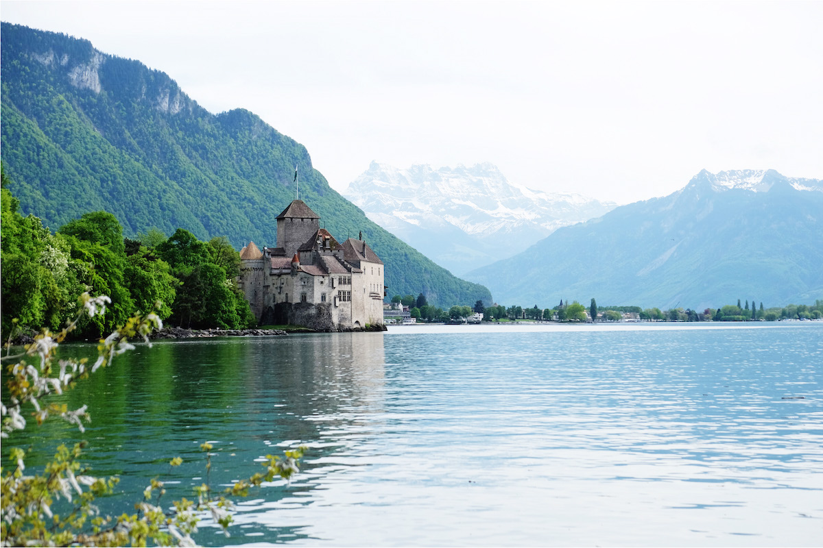 SchlossChillon nahe Montreux | © individualicious