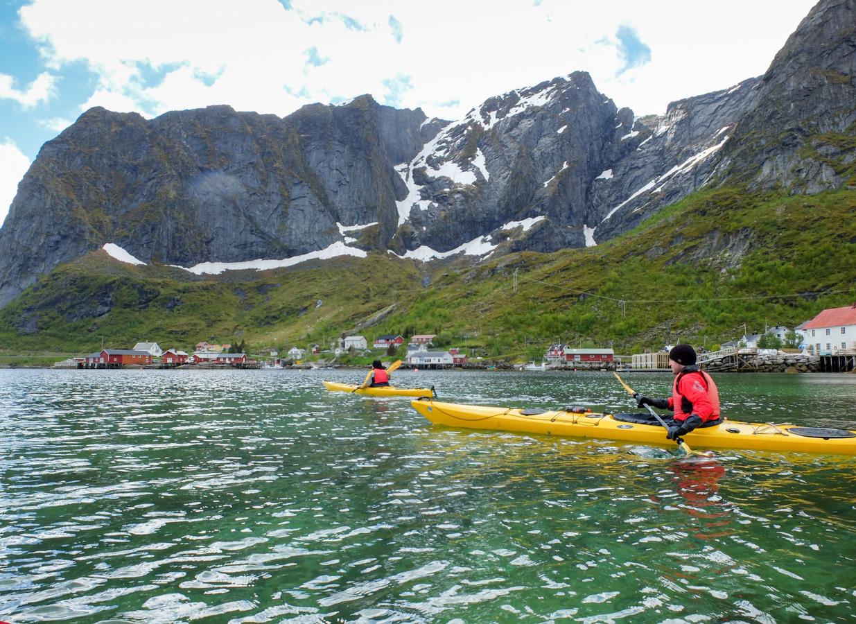 Kajak auf den Lofoten | © individualicious