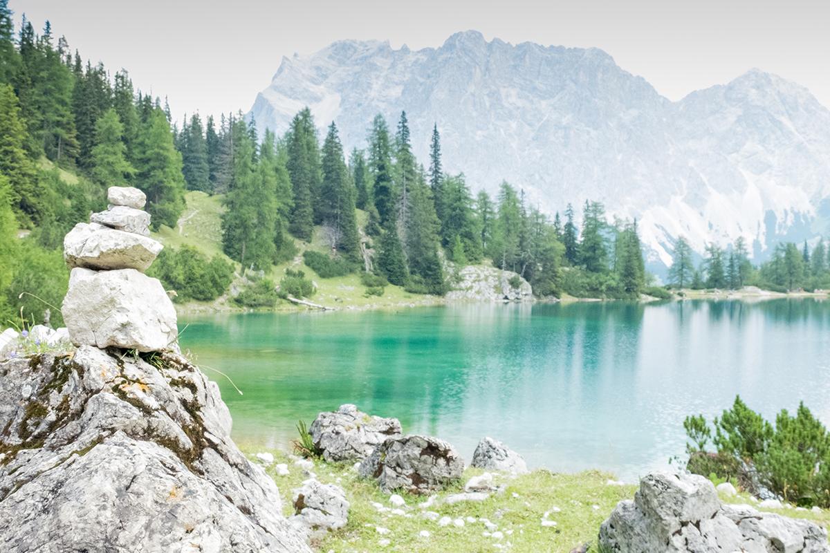 Seebensee vor Zugspitze | © individualicious