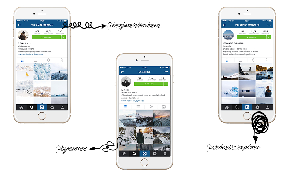 Island: Instagram-Accounts   © individualicious