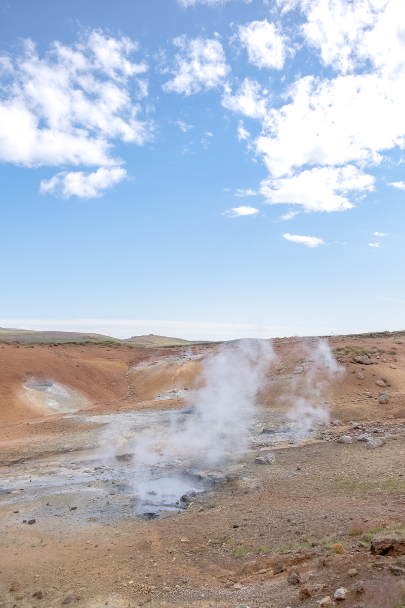 Seltún Geothermal Area, Island | © individualicious