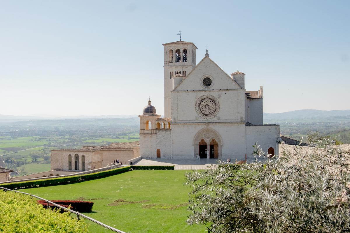 Von Perugia nach Assisi