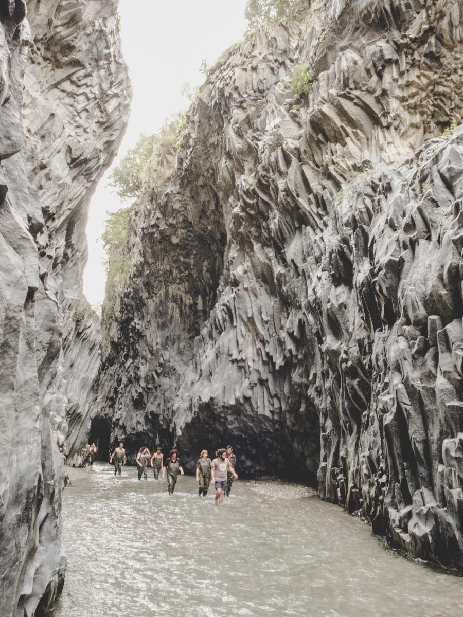 Gole dell'Alcantara, Sizilien | © individualicious